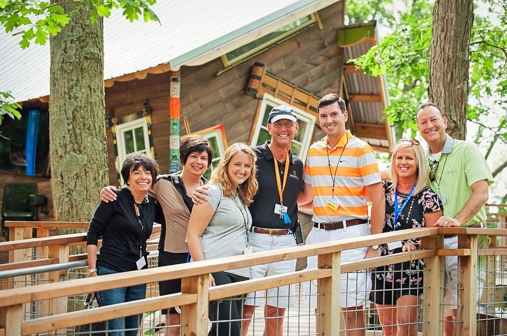 David Beeler visits camp