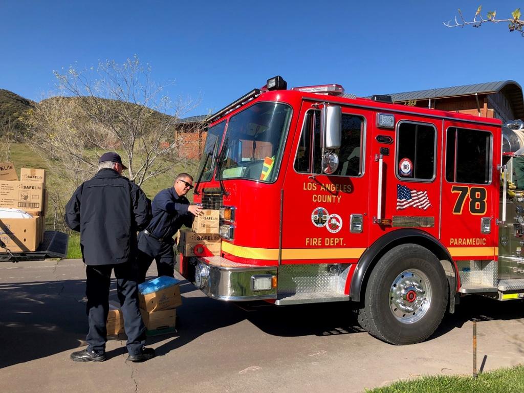 Supplies for Fire DepartmentTPT-1